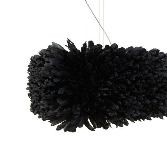 kubus k1 schwarz von pluma cubic | Pendelleuchten