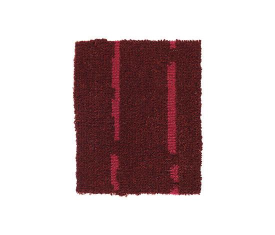 Pinstripe Burgundy-Pink 16 by Kasthall | Rugs / Designer rugs