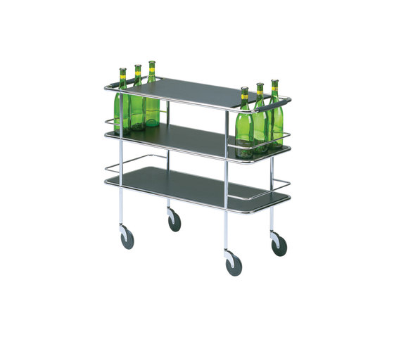 Cargo Trolley di Lammhults | Carrelli portavivande / carrelli bar