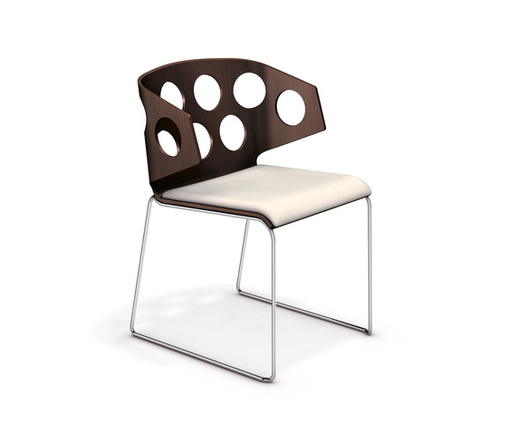 Carma I 2211/00 by Casala | Visitors chairs / Side chairs