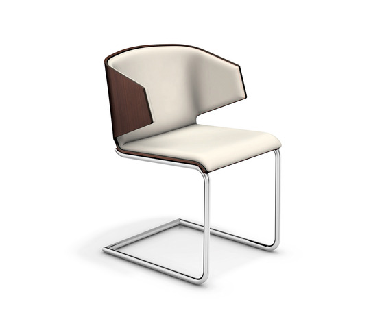Carma II 1112/00 by Casala | Visitors chairs / Side chairs