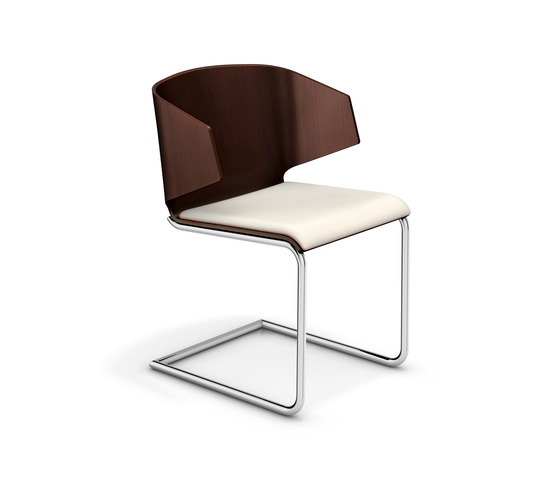 Carma II 2112/00 by Casala | Visitors chairs / Side chairs