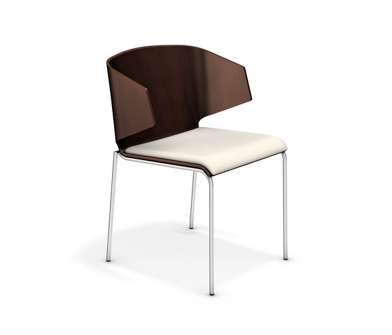 Carma III 2113/00 by Casala | Visitors chairs / Side chairs