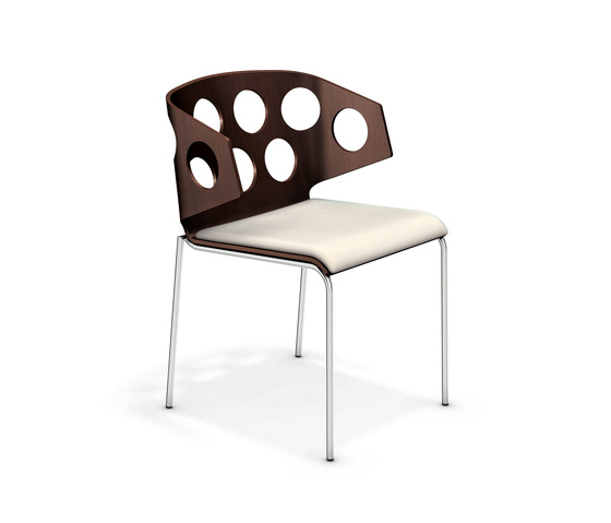 Carma III 2213/00 by Casala | Visitors chairs / Side chairs