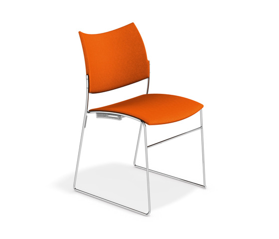 Curvy 2288/00 by Casala | Visitors chairs / Side chairs