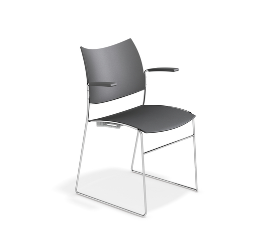 Curvy 1288/10 by Casala | Visitors chairs / Side chairs