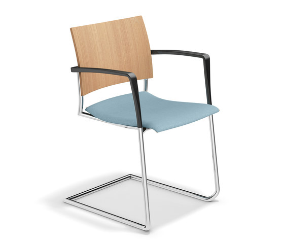 Feniks II 3487/10 by Casala | Visitors chairs / Side chairs