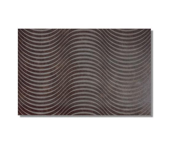 Neo Ripple Bronze 30x60 von Azuvi   Wandfliesen