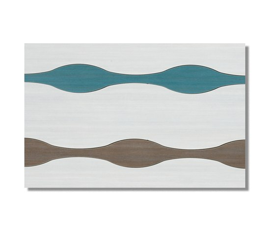 Ethnic Waves Malibú 30x90 by Azuvi | Wall tiles