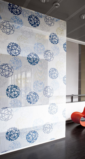 Sfera di Svensson | Tessuti per pareti divisorie