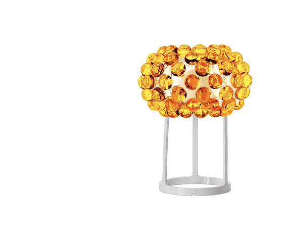 Caboche table small yellow-gold by Foscarini | General lighting