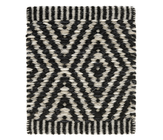 Häggå Goose Eye XL | Almost Black-Winter Landscape 9537-9835 by Kasthall | Rugs