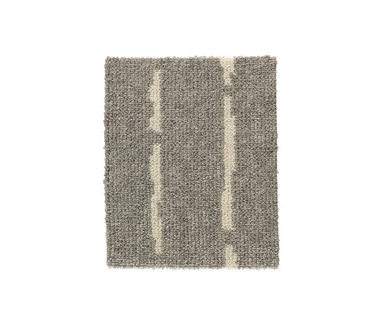 Pinstripe Grey-White 58 by Kasthall | Rugs / Designer rugs