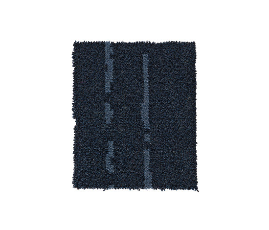 Pinstripe Blue-Light Grey 25 by Kasthall | Rugs / Designer rugs