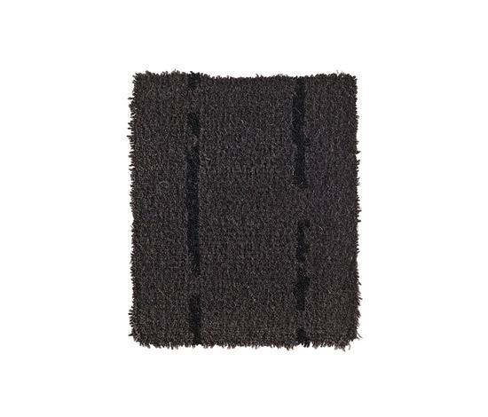 Pinstripe Black-Black 55 by Kasthall | Rugs / Designer rugs