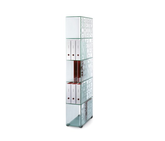 MoDu - Glass shelf by team by wellis | Brochure / Magazine display stands