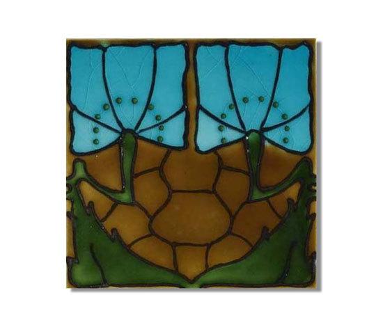 Art Nouveau wall tile F42 by Golem GmbH   Wall tiles