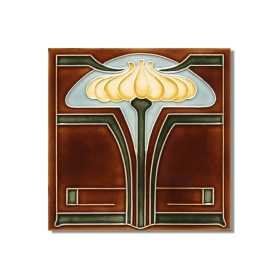 Art Nouveau wall tile F26.V6 de Golem GmbH | Azulejos de pared