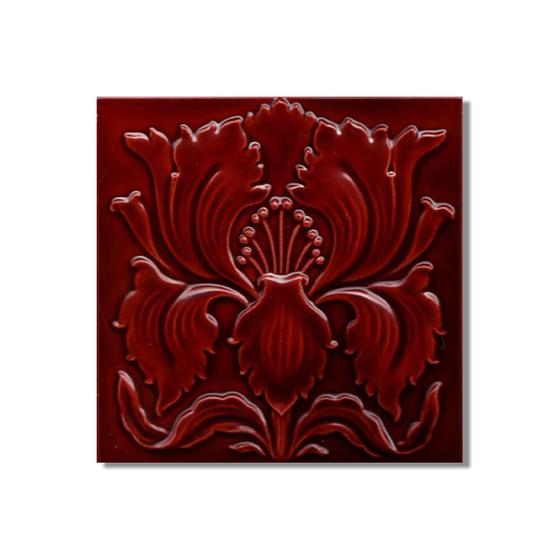 Art Nouveau wall tile F40.37 by Golem GmbH | Wall tiles