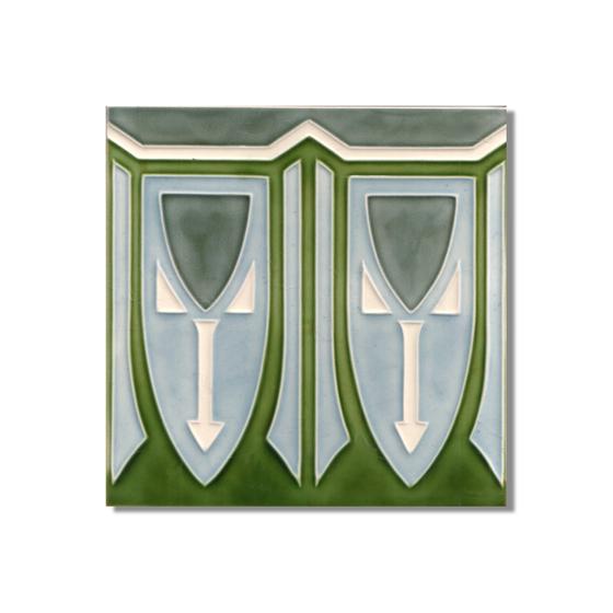 Art Nouveau wall tile F56 de Golem GmbH | Azulejos de pared