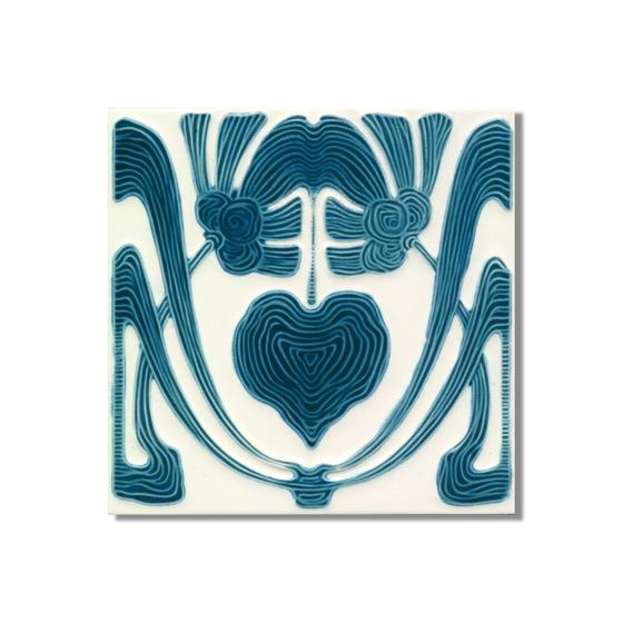 Art Nouveau wall tile F60.V1 de Golem GmbH | Carrelage mural