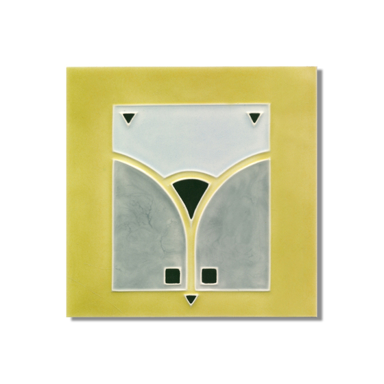 Art Nouveau wall tile F65.V2 by Golem GmbH | Wall tiles
