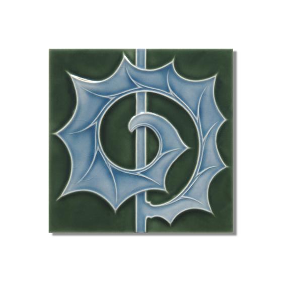 Art Nouveau wall tile F53b.V2 by Golem GmbH   Wall tiles