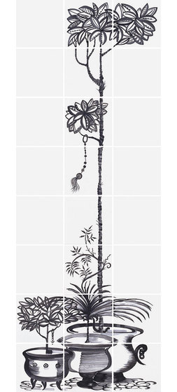 Cuban Black 5 60x160cm by Ceramica Bardelli | Wall tiles