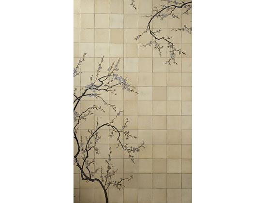 Cherry tree mural di Ann Sacks | Quadri / Murales