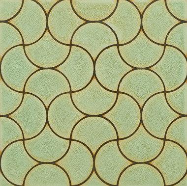 Interlaced birds 20x20 by Ann Sacks | Wall tiles