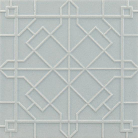 Modern fretwork 11x11 by Ann Sacks | Wall tiles