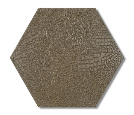 Reptile hexagon 30x35 by Ann Sacks | Floor tiles
