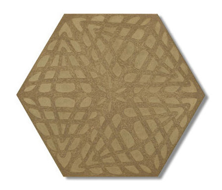 Weave hexagon 30x35 de Ann Sacks | Sols en béton / ciment