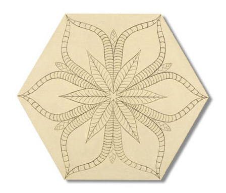 Tropic hexagon 30x35 by Ann Sacks | Floor tiles