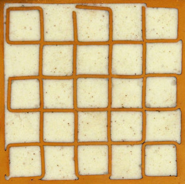 Mosaic square 5x5 di Ann Sacks | Piastrelle per pareti