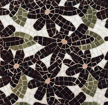 Flower Power mosaic de Ann Sacks | Mosaicos