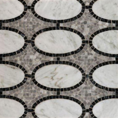 Opera mosaic by Ann Sacks | Natural stone mosaics