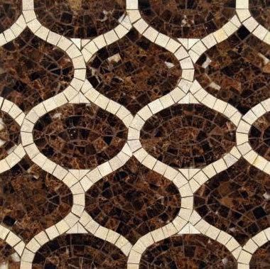 Gershwin mosaic de Ann Sacks | Mosaïques en pierre naturelle