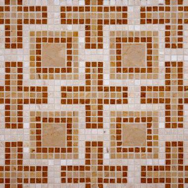 Geneva mosaic de Ann Sacks   Mosaïques en pierre naturelle