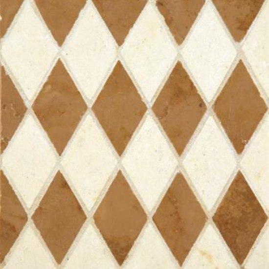 Diamonds mosaic by Ann Sacks | Natural stone mosaics