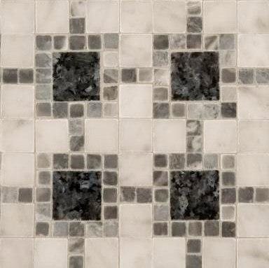 Square Link mosaic de Ann Sacks   Mosaïques en pierre naturelle