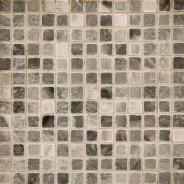 "Tesserae Straight 3/8"" mosaic by Ann Sacks | Natural stone mosaics"