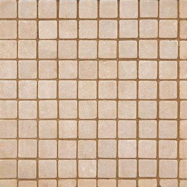 "Tesserae Straight 9/16"" mosaic by Ann Sacks | Natural stone mosaics"