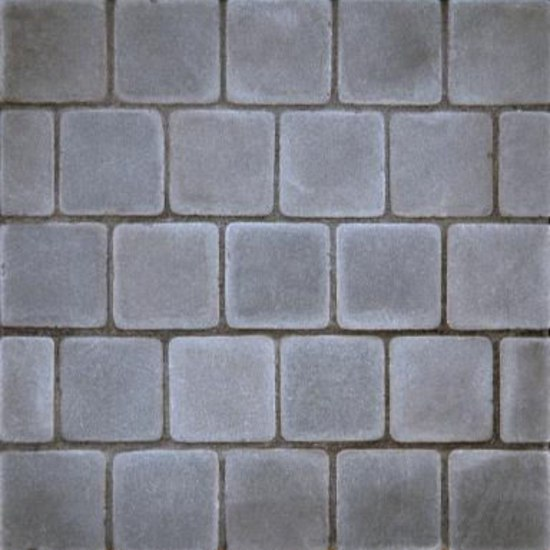 "Tesserae Offset 1 1/8"" mosaic de Ann Sacks | Mosaïques en pierre naturelle"