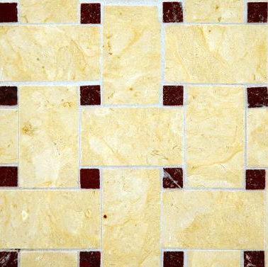 Basketweave 2 mosaic de Ann Sacks | Mosaïques en pierre naturelle