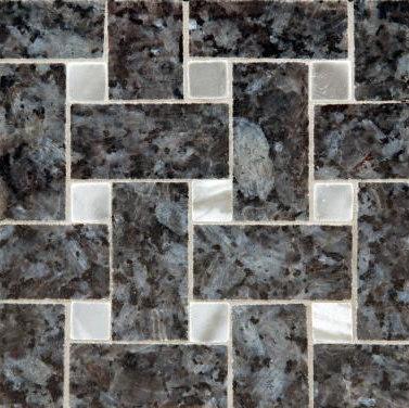 Basketweave 3 mosaic de Ann Sacks | Mosaicos de suelo