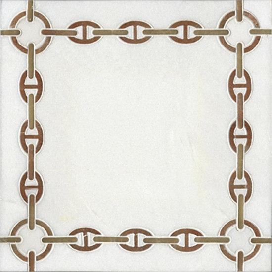 Bette mosaic de Ann Sacks | Mosaïques en pierre naturelle
