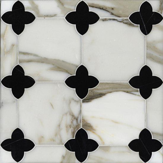 Greta mosaic de Ann Sacks | Mosaïques en pierre naturelle