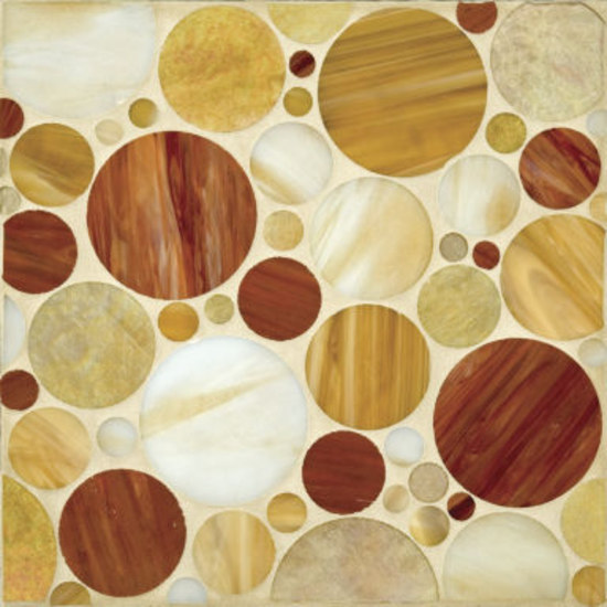 Circles glass mosaic by Ann Sacks | Glass mosaics