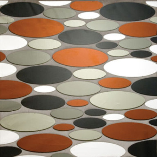 Ovals glass mosaic de Ann Sacks | Mosaïques